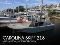 2016 Carolina Skiff 218 DLV