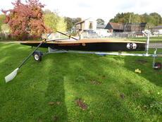 Coastal rowing boat EURODIFFUSIONS X19