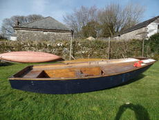 Mirror dinghy and sails