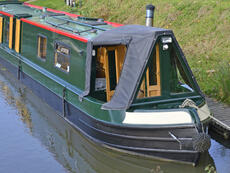 CASSON 57ft 3in Traditional Narrowboat with 4 berths