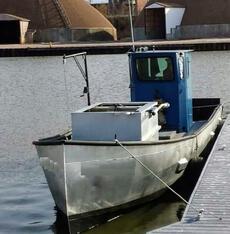 1990  36' x 9'3 Steel Trapnetter/Minnow Boat
