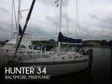 1984 Hunter 34
