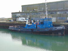 A twin screw tug delivered worldwide