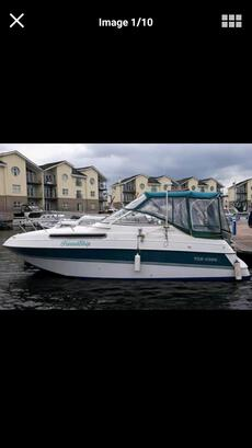 Four Winns 25.8  Vista  Motor  Boat