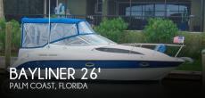 2004 Bayliner 265 Cruiser