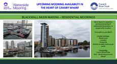 RESIDENTIAL MOORINGS - CANARY WHARF