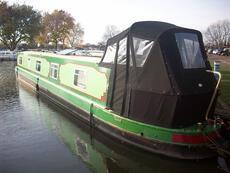 57ft Cruiser Stern Narrowboat built by Cain Narrowboats