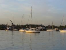 Swinging Moorings in Essex