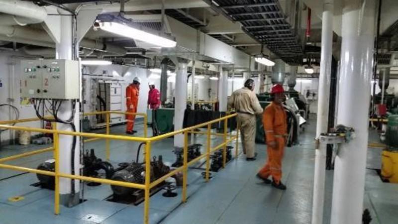 Pipe Laying Barge