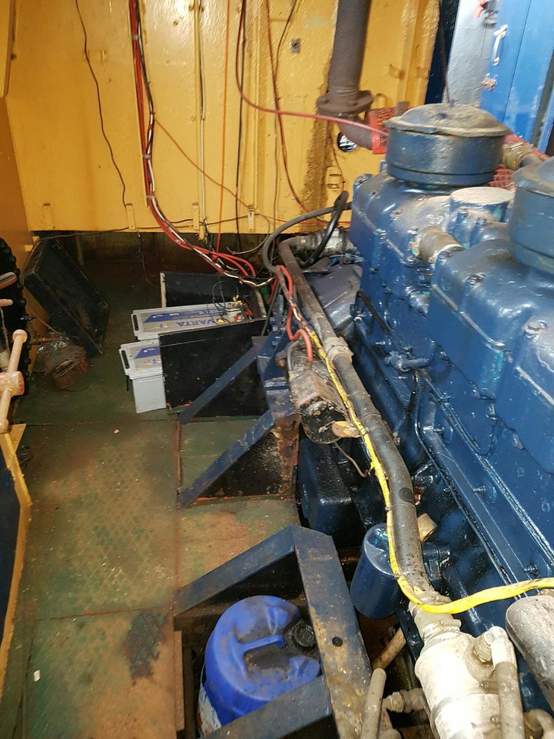 48ft Steel Work Boat