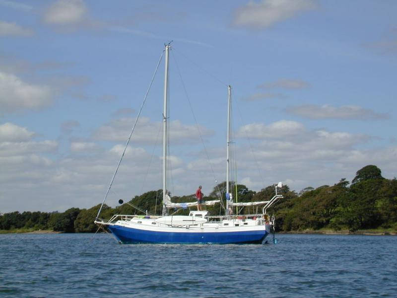 Spray 38 Steel Bluewater Ketch - Poss. Share Available