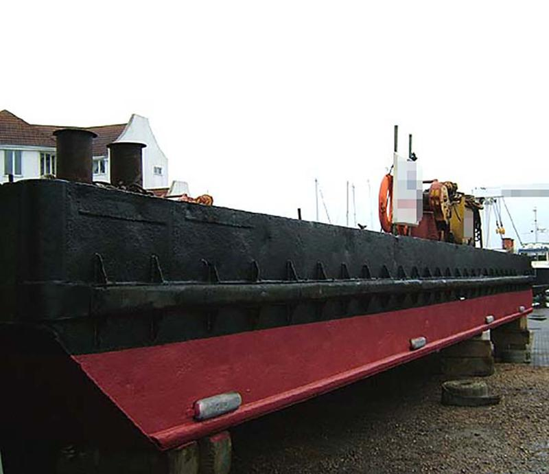 1985 BARGE Flattop 18.02 m Only For Charter