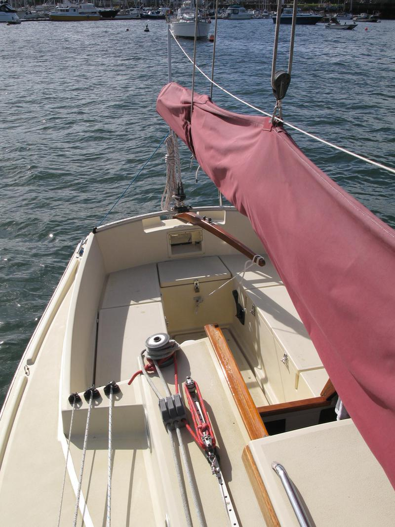 Cornish Crabber 22 Auxiliary Gaff Cutter