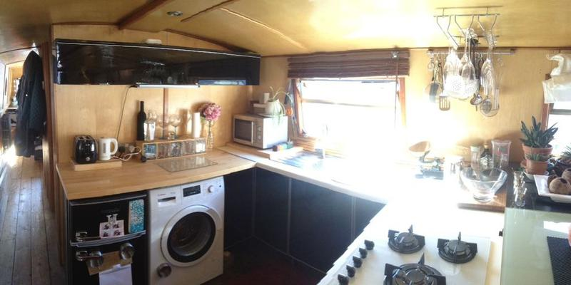 Widebeam Canal 60' x 10' Cruiser Stern Residential Mooring Liverpool