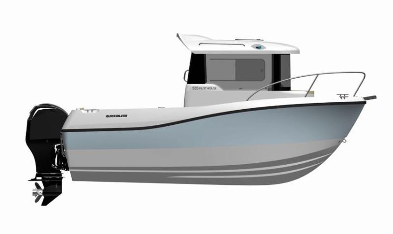 2019 Quicksilver Captur 555 Pilothouse