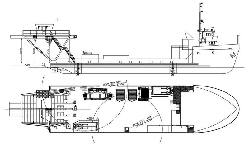 1971 Offshore Support Vessel For Charter