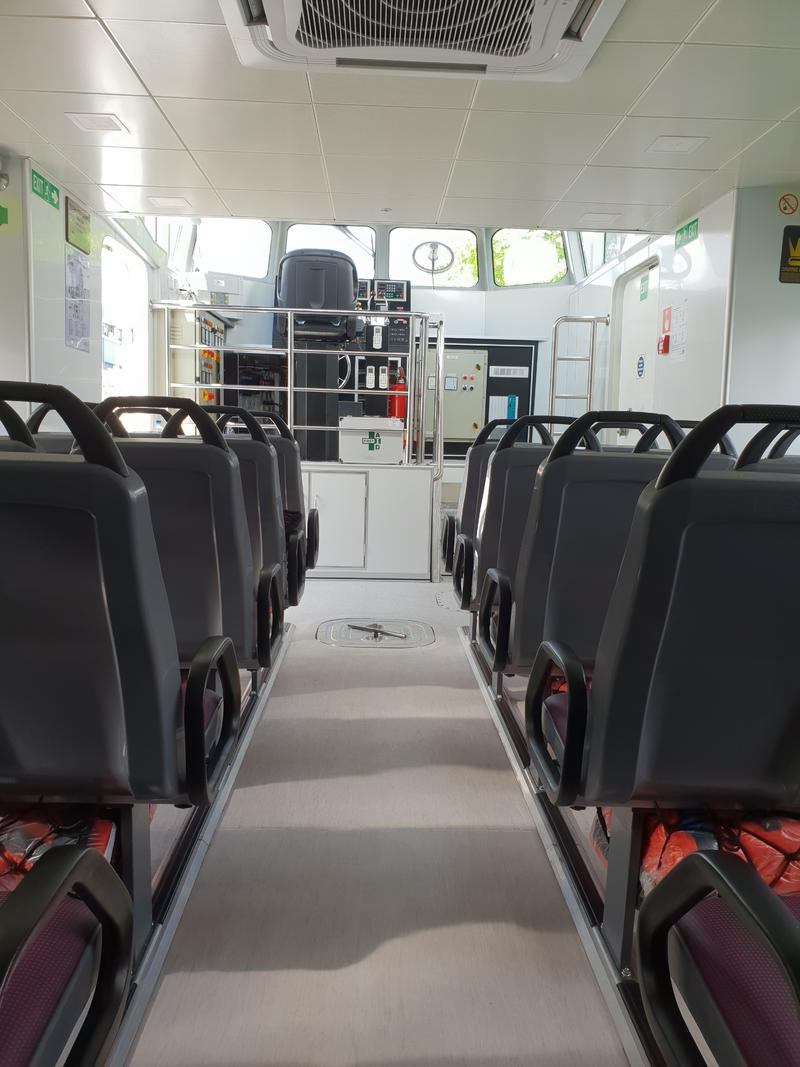 NEW BUILD - 17.2m Aluminium Passenger Ferry - Available Now