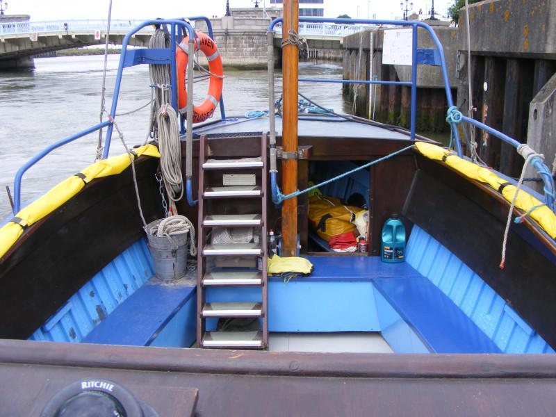 Classic Open passenger trip vessel.
