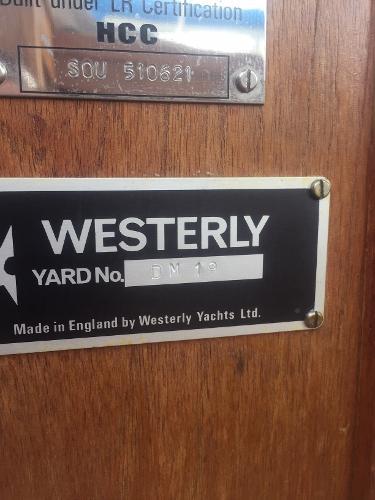 1986 Westerly Konsort Duo