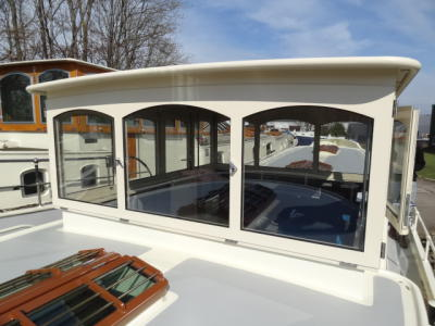 Wheelhouse fitted
