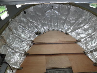 Insulation befor lining