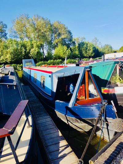 Mooring at Enslow