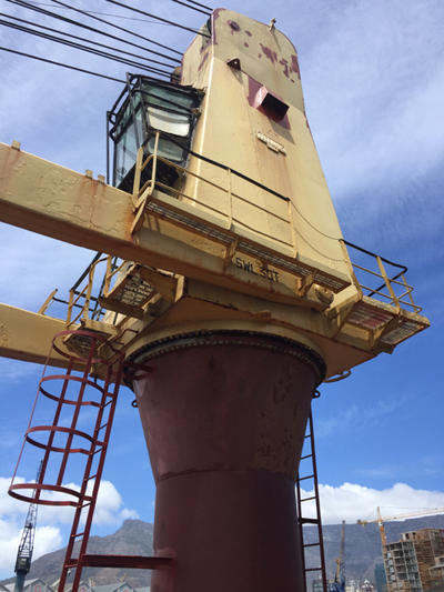1 x 30mt Crane serving After Hatch