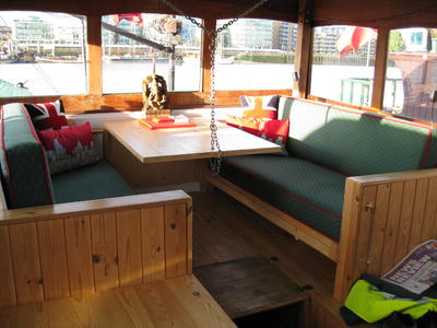 Wheelhouse seating / dining