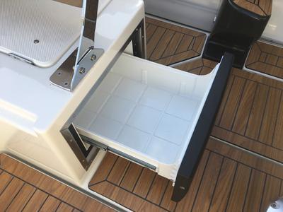 Inbuilt fridge drawer