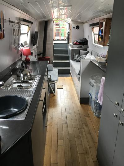 galley and living area