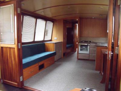 Main saloon from low level