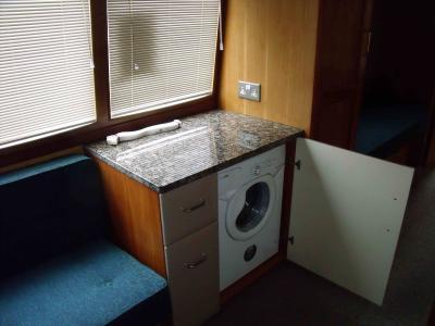 Washing machine detail
