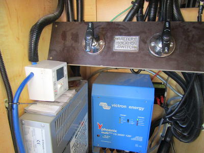 Electrical control cupboard