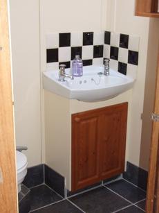Washroom withshower