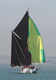 Racing in light winds