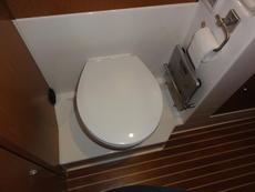 Fresh water WC