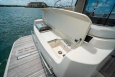 Grill/Sink on Swim Platform