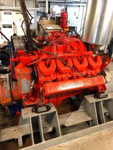 Main Engine Scania DSI14