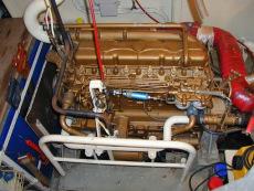 Perkins 120hp Main engine