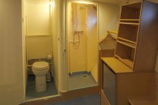 Double cabin Toilet & Shower