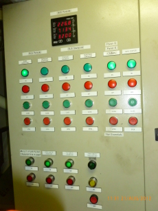 Electrical cabinet controls