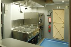 New galley & systems