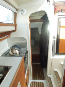 Galley towards aft cabin