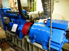 Portside Aux. Diesel generator