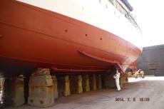 2014 Dry dock - Antifouling