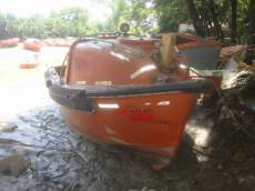 Small Cabing Harding boat