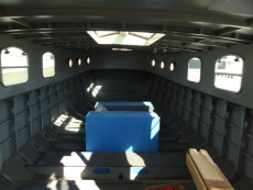 Shell before insulation and lining