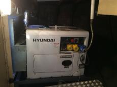New Hyundai generator fitted 2014