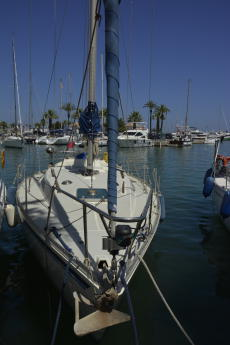 on the berth