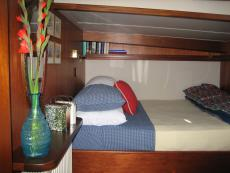 Starboard en-suite berth